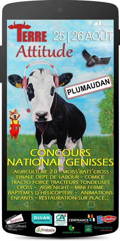 Calendrier Comice Agricole Sarthe 2019.Terre Attitude 2018 Concours National Genisses