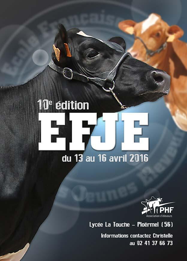 Ecole Française des Jeunes Eleveurs 2016