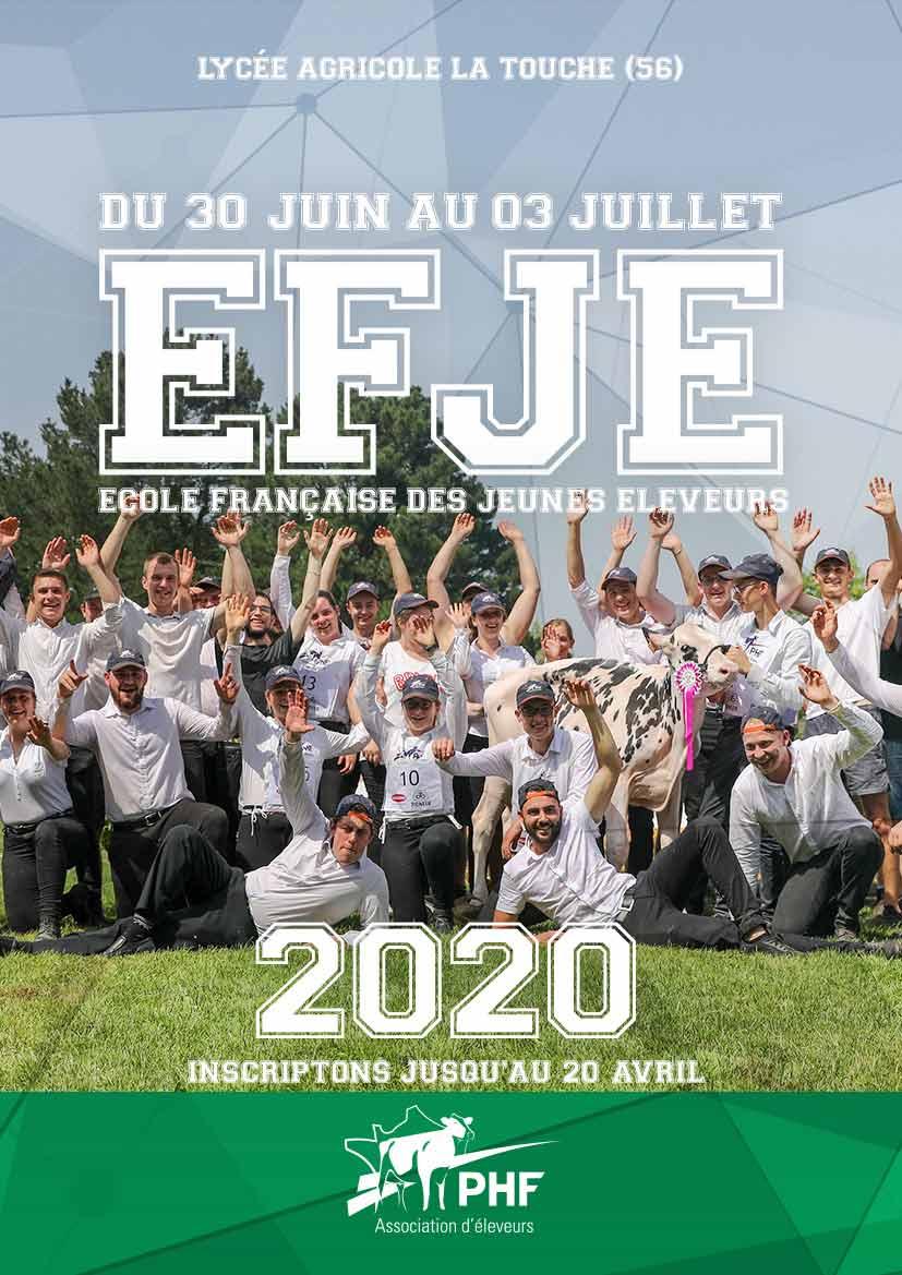 Ecole Française des Jeunes Eleveurs 2020