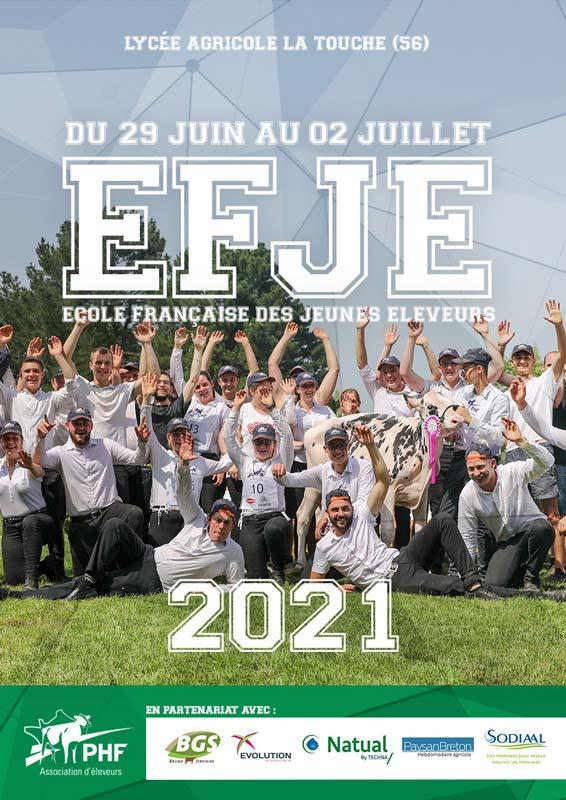 Ecole Française des Jeunes Eleveurs 2021