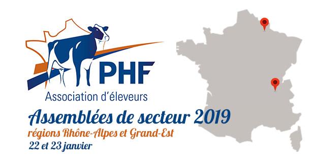 Assemblées de secteur 2019 : le Rhône-Alpes et le Grand Est à l'honneur
