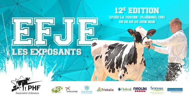EFJE 2018 : les éleveurs morbihannais en exposition fin juin