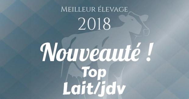 Les meilleures élevages français en Lait par jour de vie